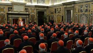 Benoît XVI s'adresse pour la dernière aux cardinaux de la Curie avant sa renonciation, 28/2/13