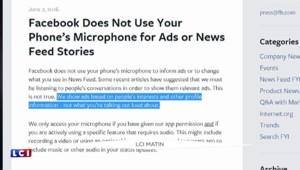 Facebook : sommes-nous espionnés avec le micro de nos smartphones ?