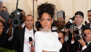 Rihanna au gala du Met à New York le 5 mai 2014.
