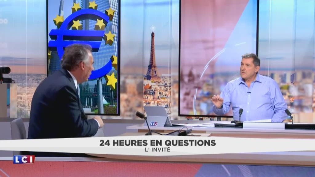 l 39 invit de 24 heures en questions du 5 avril 2017 fran ois bayrou pr sident du mouvement. Black Bedroom Furniture Sets. Home Design Ideas