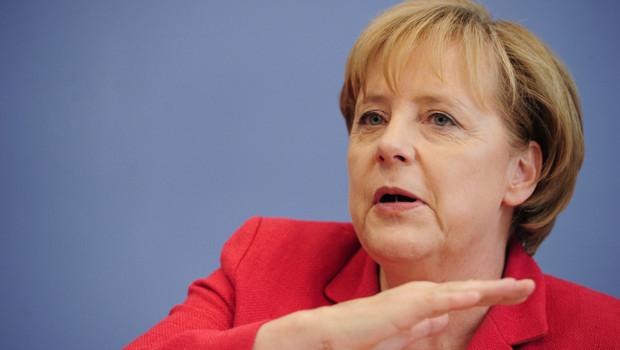 Angela Merkel, en 2011