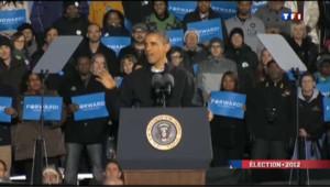 Elections USA 2012 : ambiance veillée d'arme
