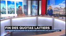"""""""La fin des quotas laitiers, une volonté de libéralisation"""", pour Laurent Pinatel"""