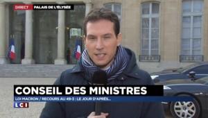 """Loi Macron : Hollande """"a rappelé qu'on s'adressait aux Français"""", insiste Le Foll"""
