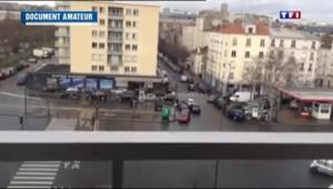 Porte de Vincennes : la vidéo amateur de l'évacuation de l'immeuble
