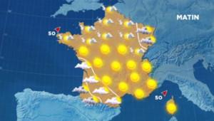 soleil 27 mai carte météo