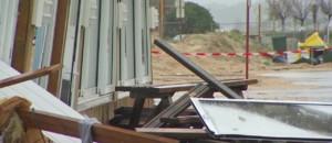 Vents violents dans le Sud-Ouest : les vagues ont fait de gros dégâts