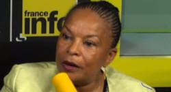 Christiane Taubira sur France Info