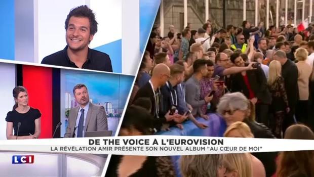 """Eurovision 2016 : Amir fier d'avoir fait """"un score honorable"""""""