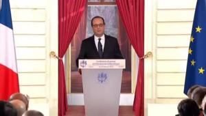 """Hollande ne veut """"pas rentrer dans le débat de la fourniture des armes à l'Ukraine"""""""
