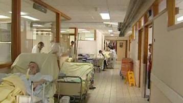 TF1/LCI : Couloir d'hôpital