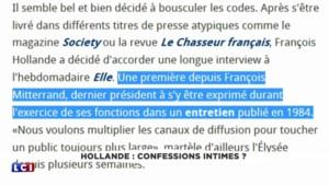 """Après son Periscope """"raté"""", Hollande fait un flop avec son interview pour ELLE"""