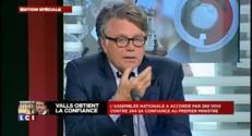 """Collard : si le FN était mieux représenté, """"Valls serait renversé"""""""