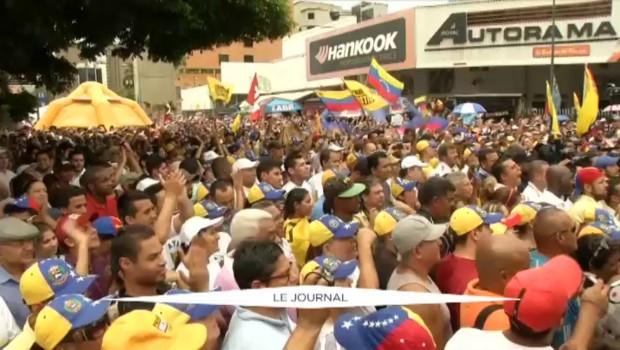 Crise politique au Venezuela : nouvelle journée sous haute tension