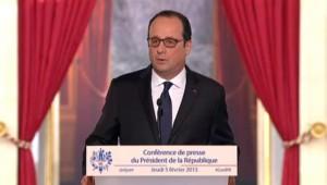 """François Hollande sur l'Ukraine : """"Nous sommes dans une guerre qui peut être totale"""""""