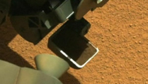 Image de Curiosity, envoyée par la Nasa sur Mars