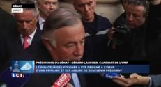 """Larcher : """"Je porte aussi les idées que Jean-Pierre Raffarin a proposées"""""""