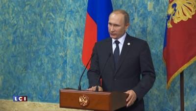 Poutine accuse la Turquie d'avoir abattu l'avion russe pour protéger le trafic de pétrole de Daech