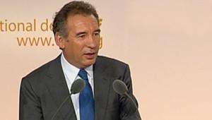TF1/LCI - François Bayrou lors du discours de clôture du conseil national de l'UDF, le 12 novembre 2006