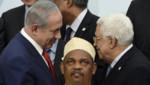 Abbas Netanyahu photobomb Comores Ikililou Dhoinine