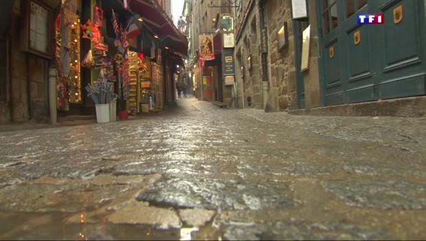 Attentats : déserté, le Mont-Saint-Michel vit à l'arrêt
