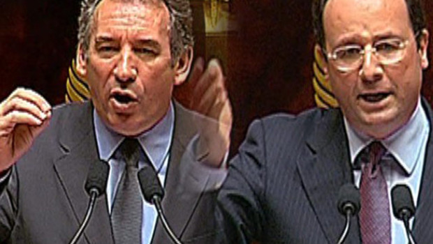 Bayrou Hollande