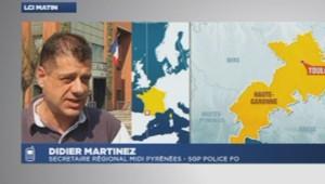 Didier Martinez, secrétaire régional midi pyrénées de la SGP Police