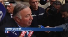 """Gérard Larcher : """"Nous devrons au deuxième tour, rassembler"""""""