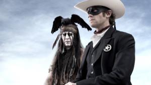 Johnny Depp et Armie Hammer dans The Lone Ranger de Gore Verbinski