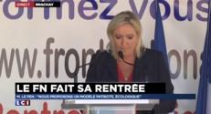 """Le Pen : """"Dirait-on merci aux voleurs qui nous rendraient une partie de notre argent ? Non !"""""""