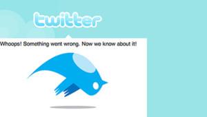 Oops... Twitter a sauté.