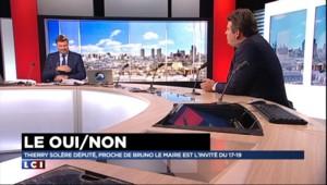 """Sarkozy candidat en 2017 malgré ses ennuis judiciaires ? """"Ça ne me gêne en rien"""", répond Solère"""