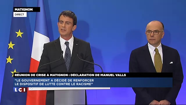 """Valls : """"Nous n'offrirons pas la victoire de la peur à ceux qui veulent ... - TF1"""