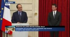 """Hollande à Valls : """"Vous aimez la controverse !"""""""
