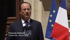 """Hollande : """"Il vaut mieux être prudent mais savoir où nous allons"""""""