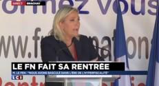 "Le Pen : ""Cette pression fiscale est devenue insupportable"""