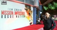 Londres: hystérie lors de l'avant première de Mission Impossible 5