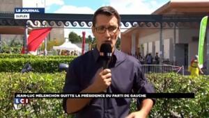 """Mélenchon quitte la présidence du Parti de gauche : """"Je ne pense pas que les tensions en soient l'origine"""""""