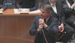 Vincent Peillon à l'Assemblée nationale.