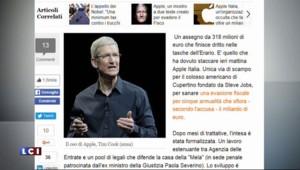 Apple contraint de payer 318 millions d'euros au fisc italien