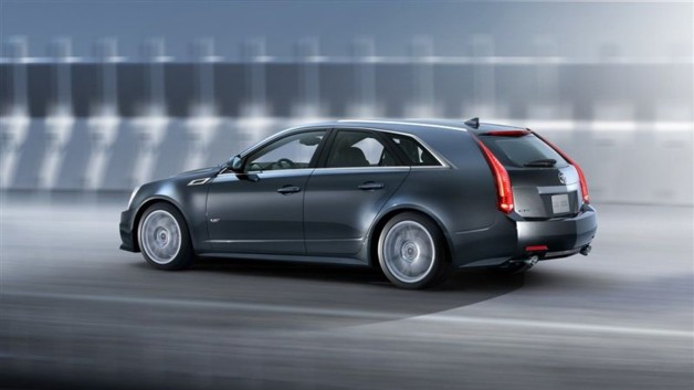 Photo 4 : Cadillac CTS-V Sport Wagon : le break se dévergonde