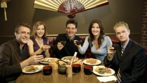 How I Met Your Mother avec Josh Radnor, Jason Segel, Alyson Hannigan, Neil Patrick Harris et Cobie Smulders.