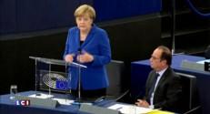 """Merkel : """"Il nous faut une démarche déterminée européenne"""""""