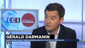 "Gérald Darmanin : ""Ras-le-bol de Martine Aubry"""