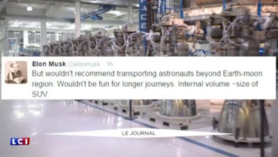 SpaceX : Elon Musk veut envoyer une capsule sur Mars dès 2018