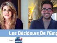 Celica Thellier d'Auzers, co-fondateur de meilleures-entreprises.com et de HappyTrainees et Simon Péneau, Campus Manager France d'Ubisoft
