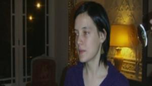 Clotilde Reiss à l'ambassade de France de Téhéran après sa libération