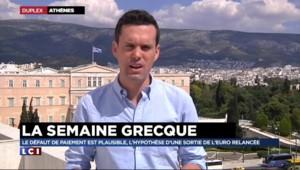 """Dette grecque : """"Pas de mouvement de panique à Athènes, plutôt de la lassitude"""""""