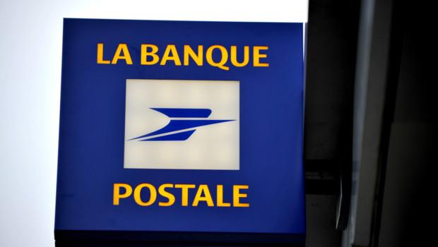 Le logo de la Banque Postale le 22 décembre 2008