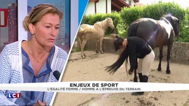 """En sport, l'ambition féminine se heurte au """"plafond de verre"""", estime l'ex judokate Frédérique Jossinet"""